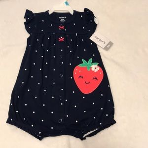 Navy blue, strawberry suit- two available